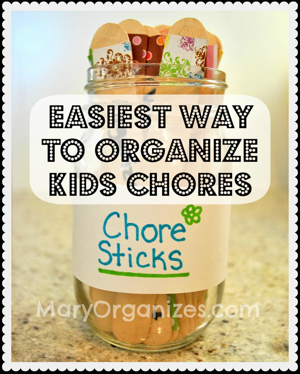 Chore Sticks A Child Friendly Approach To Chores Creatingmaryshome Com